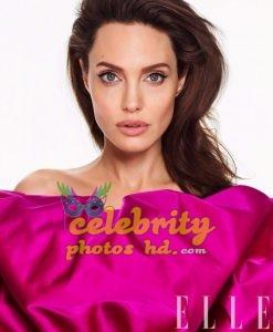 ANGELINA JOLIE in Elle Magazine Photo (1)
