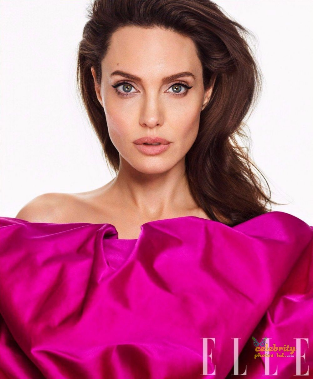 ANGELINA JOLIE in Elle Magazine Photo (1)