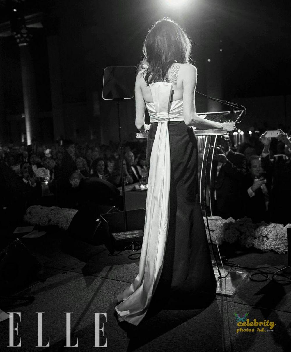 ANGELINA JOLIE in Elle Magazine Photo (2)