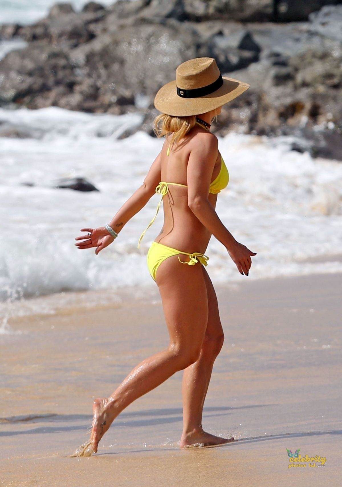 BRITNEY SPEARS in New Bikini at a Beach in Hawaii (5)