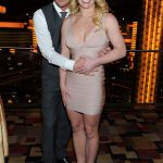 Britney Spears Celebrates Engagement Photo's at Planet Hollywood in Las Vegas.