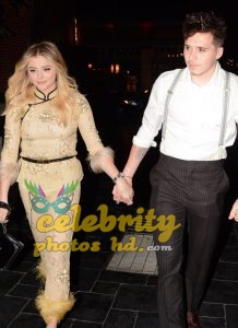CHLOE MORETZ Celebrates Her 21st Birthday with Brooklyn Beckham in Los Angeles (1)