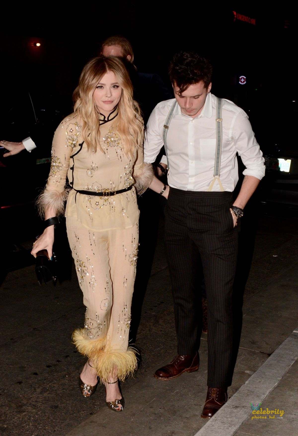 CHLOE MORETZ Celebrates Her 21st Birthday with Brooklyn Beckham in Los Angeles (2)