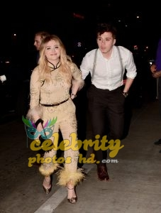 CHLOE MORETZ Celebrates Her 21st Birthday with Brooklyn Beckham in Los Angeles (3)