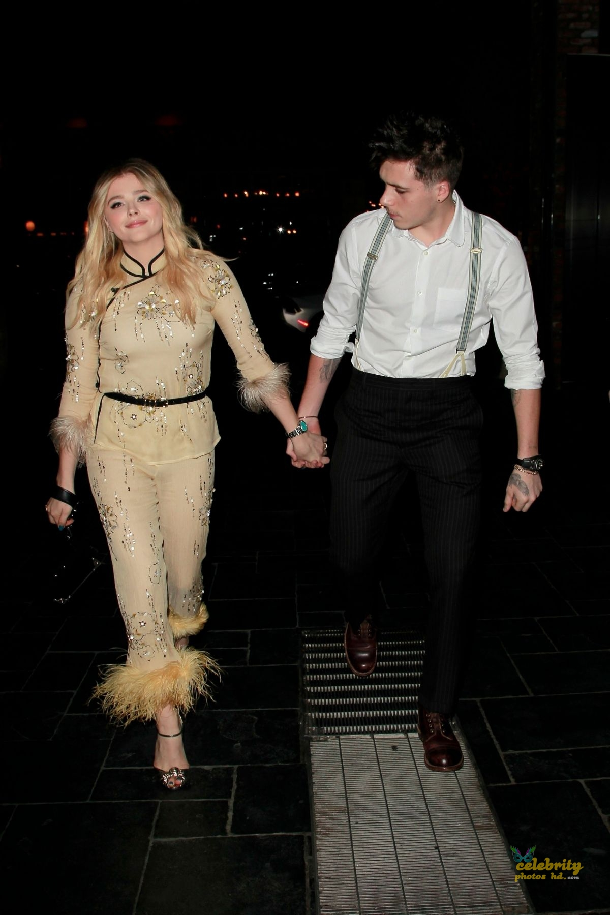 CHLOE MORETZ Celebrates Her 21st Birthday with Brooklyn Beckham in Los Angeles (4)