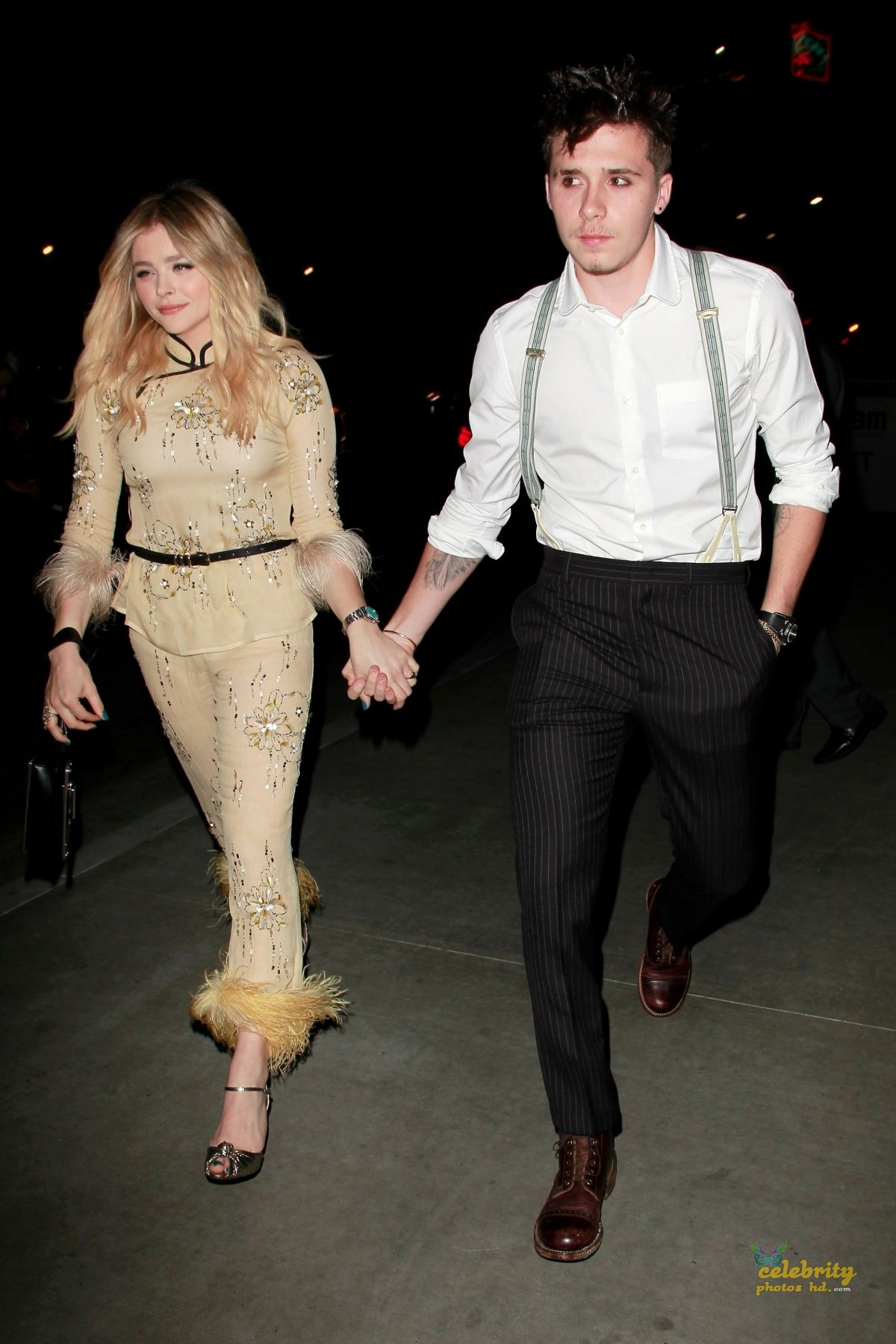 CHLOE MORETZ Celebrates Her 21st Birthday with Brooklyn Beckham in Los Angeles (5)