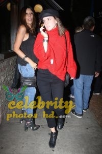 EMMA WATSON Arrives at Troubadour in Los Angeles (2)