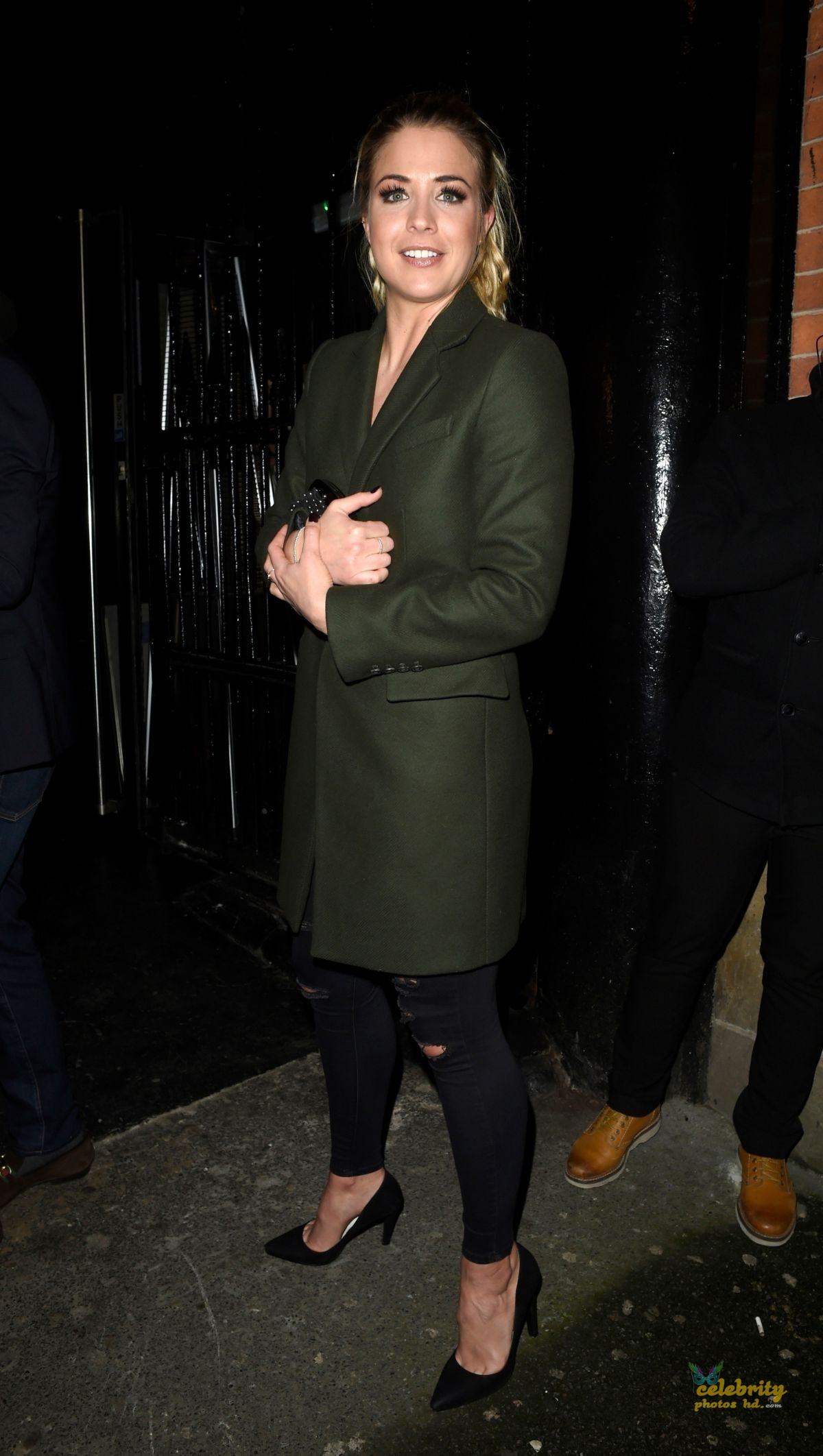 GEMMA ATKINSON Night Out in Manchester (2)