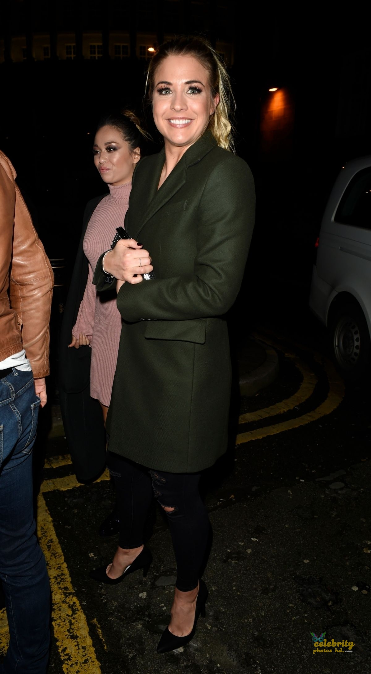 GEMMA ATKINSON Night Out in Manchester (3)