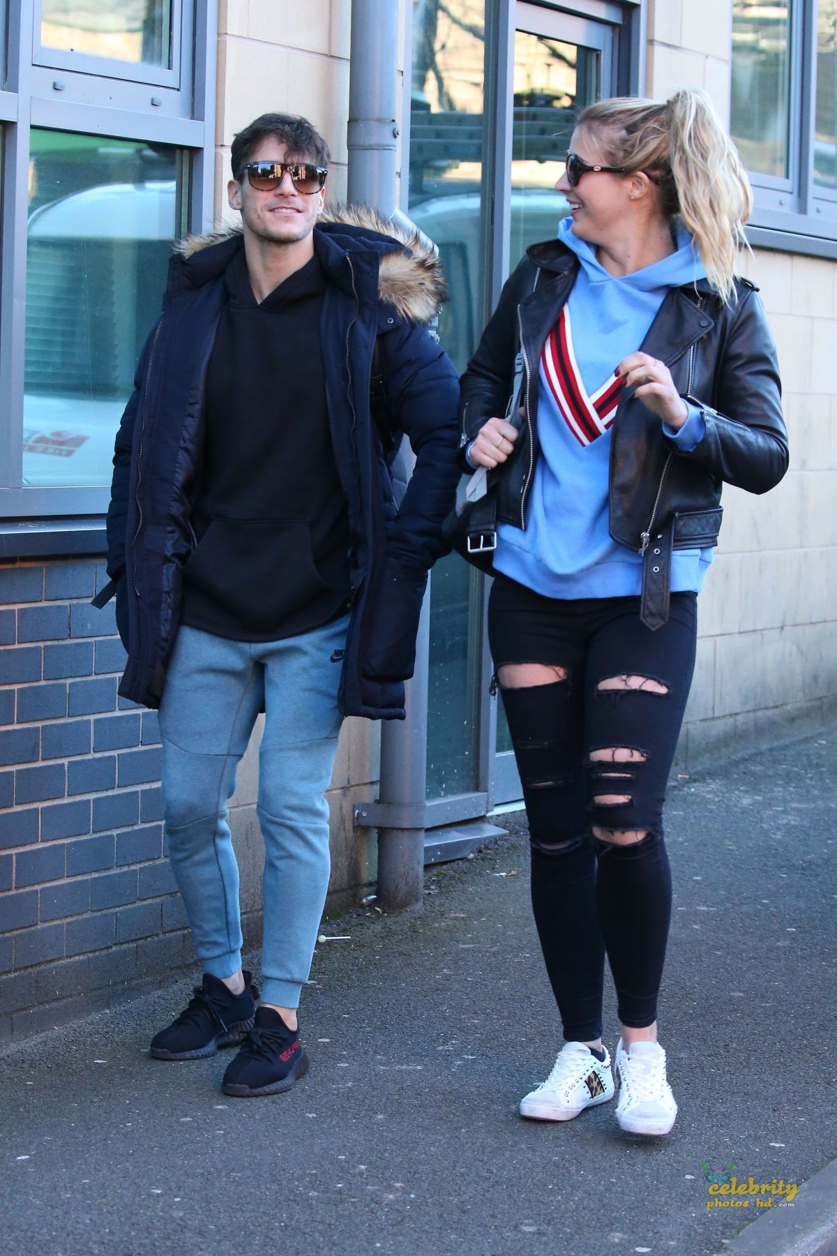 GEMMA ATKINSON Out and About in Nottingham (1)
