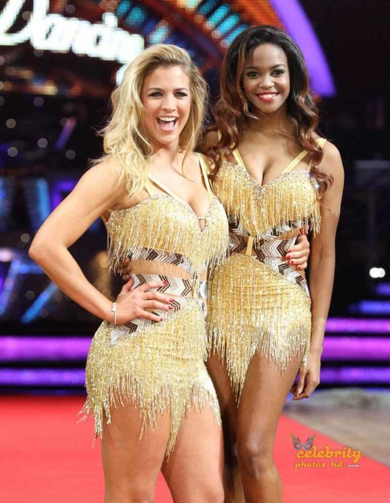 GEMMA ATKINSON at Strictly Come Dancing The Live Tour! Photocall in Birmingham (1)