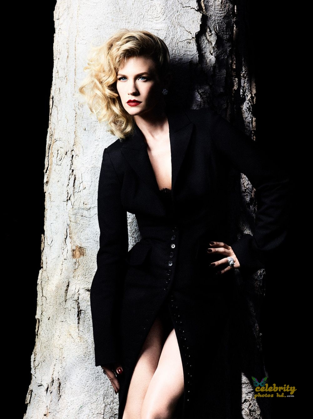JANUARY JONES for Violet Grey, January Photo's (4)