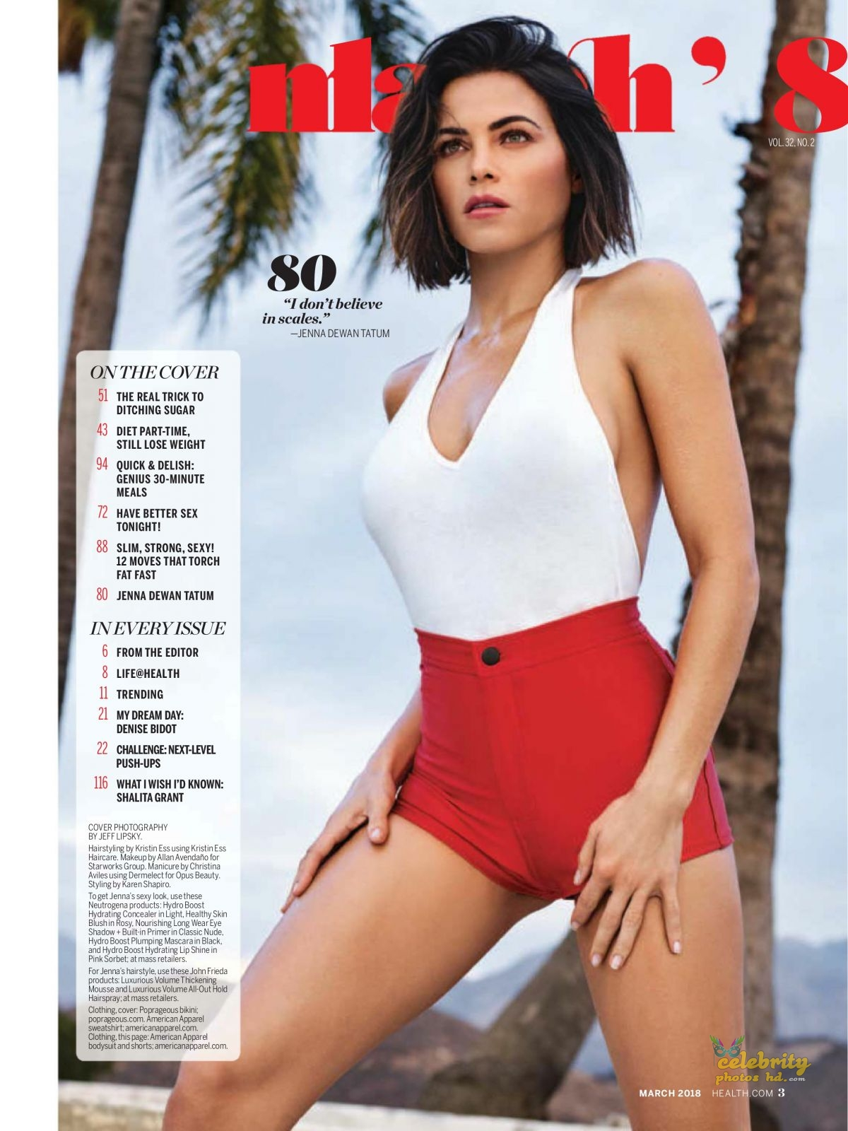 JENNA DEWAN in Health Magazine, (4)