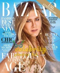 JENNIFER ANISTON for Harper's Bazaar Magazine, (1)