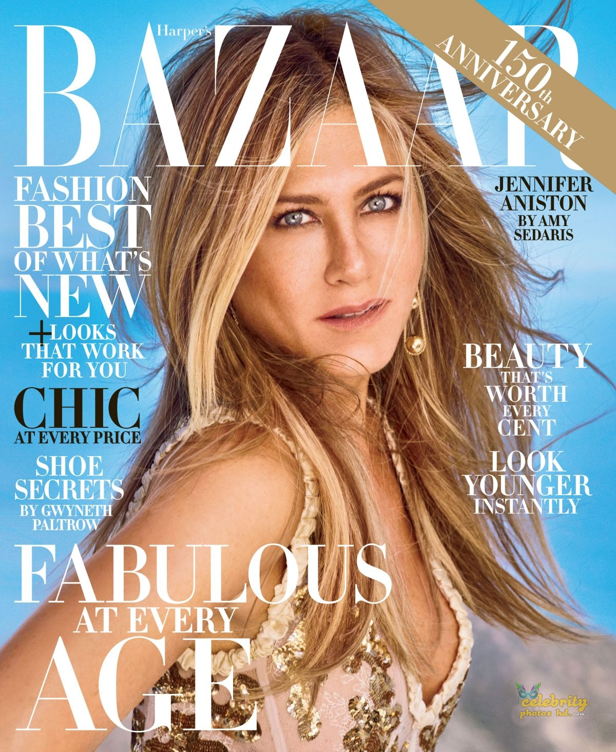 JENNIFER ANISTON for Harper's Bazaar Magazine, (1)