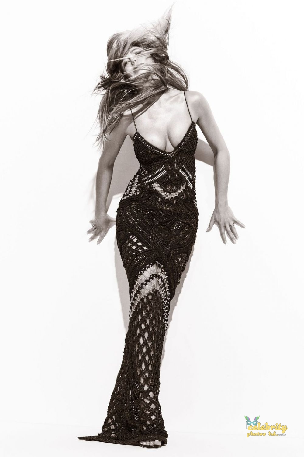 JENNIFER ANISTON for Harper's Bazaar Magazine, (2)