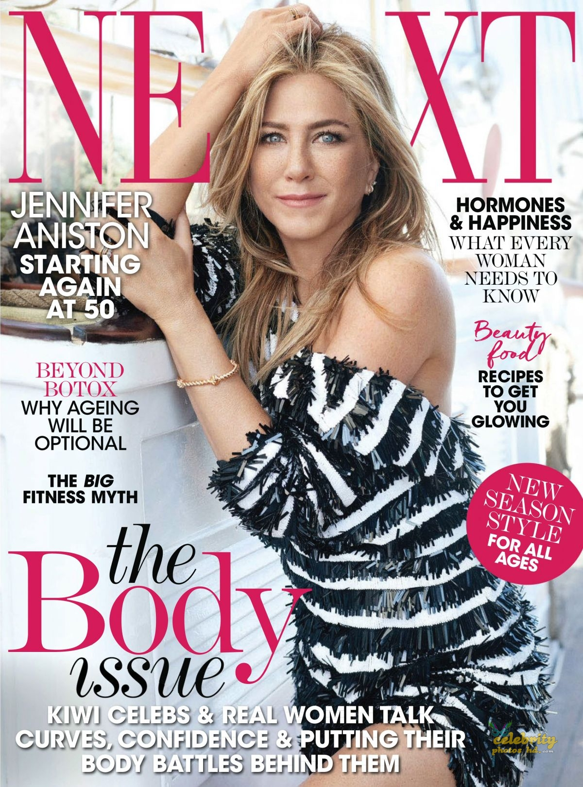 JENNIFER ANISTON in Next Magazine, New Zealand March (1)