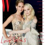 JENNIFER LAWRENCE and EMMA STONE for W Magazine, January-2018