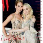 JENNIFER LAWRENCE and EMMA STONE for W Magazine, January-2018