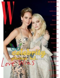 JENNIFER LAWRENCE and EMMA STONE for W Magazine photo's (1)