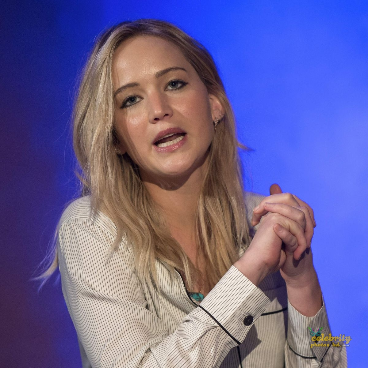 JENNIFER LAWRENCE at Unrig the System Summit in New Orleans (5)