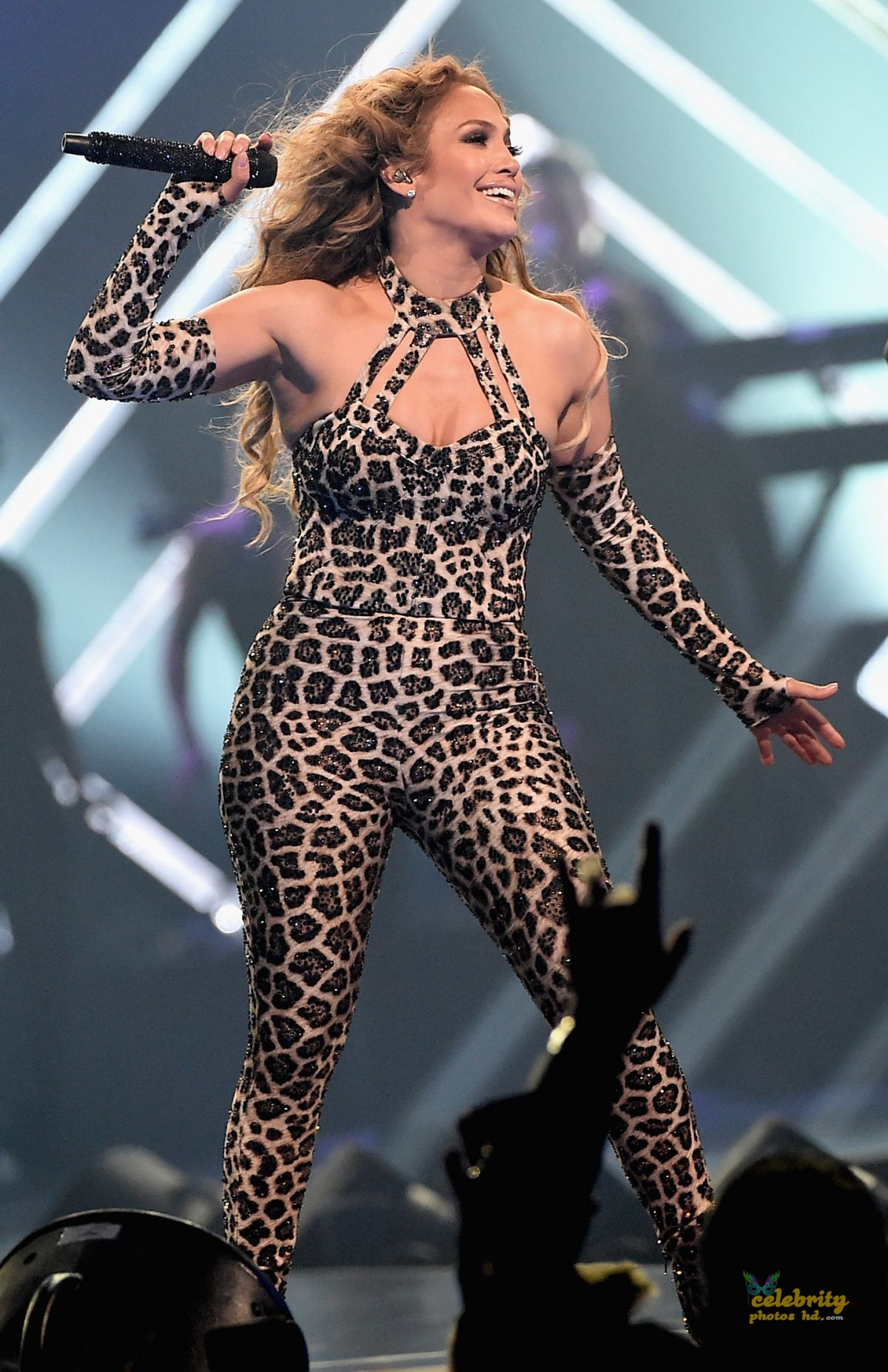 JENNIFER LOPEZ Performs at Direct TV Now Super Saturday Night in Minneapolis (8)