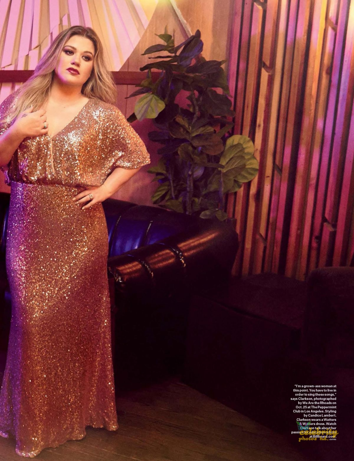 KELLY CLARKSON in Billboard Magazine (1)