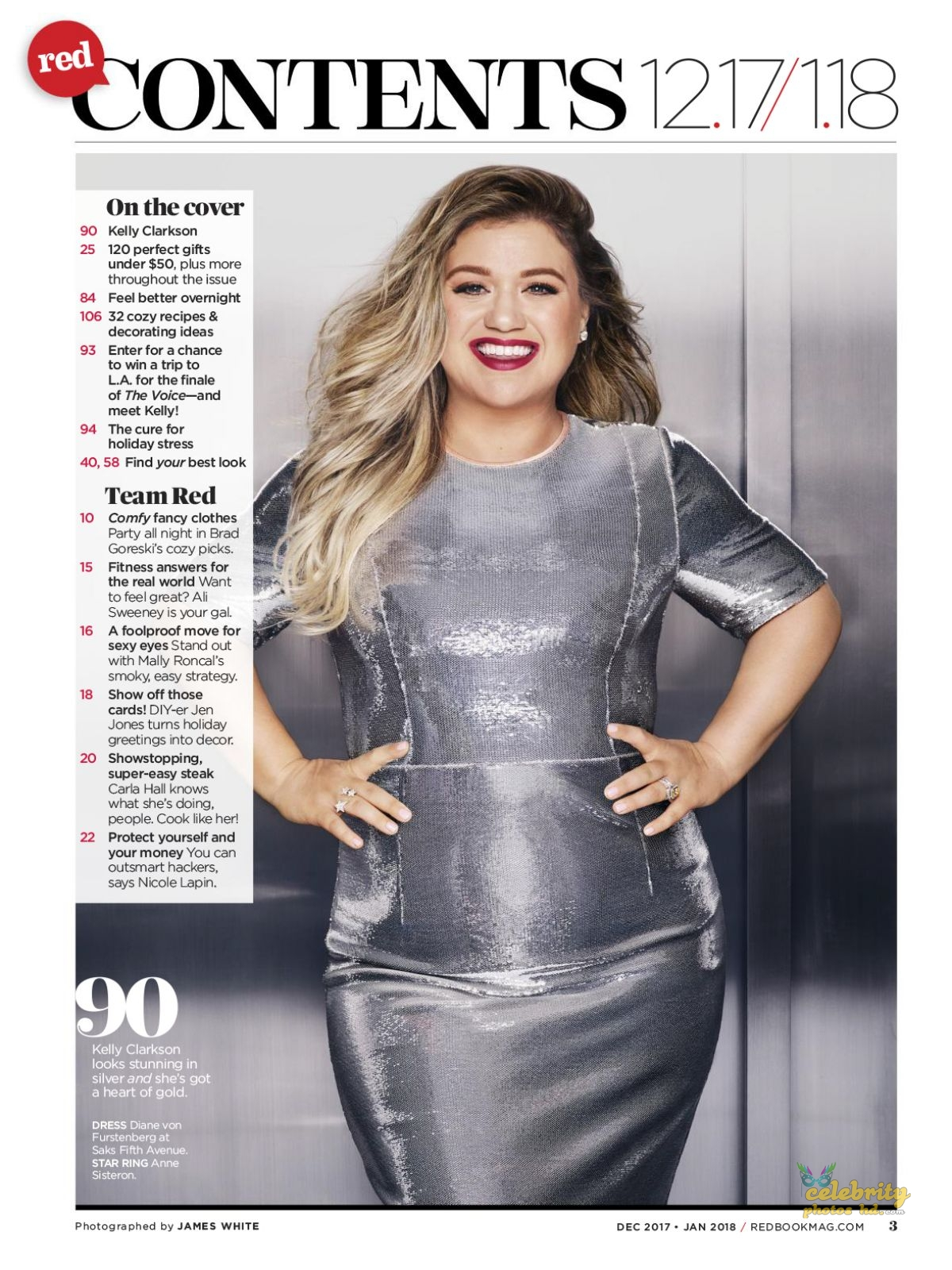 KELLY CLARKSON in Redbook Magazine Photoshoot (1)