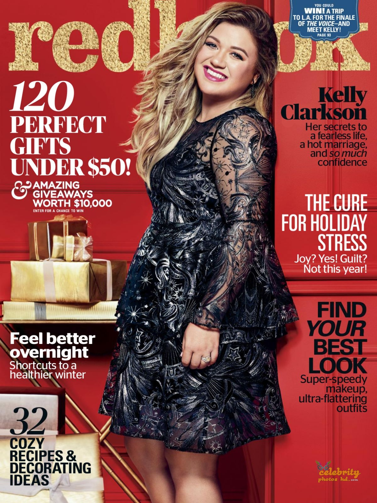 KELLY CLARKSON in Redbook Magazine Photoshoot (2)