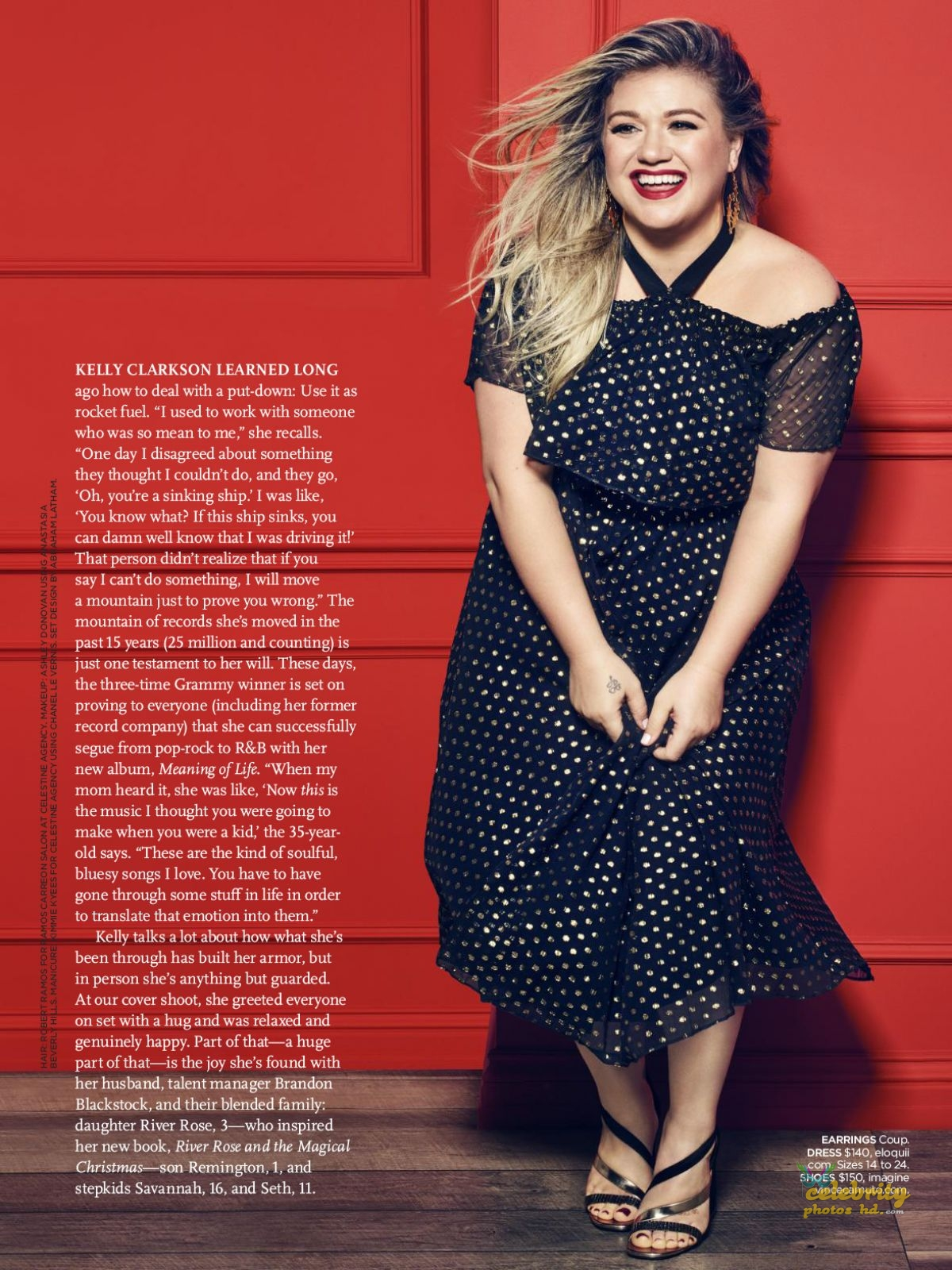 KELLY CLARKSON in Redbook Magazine Photoshoot (4)