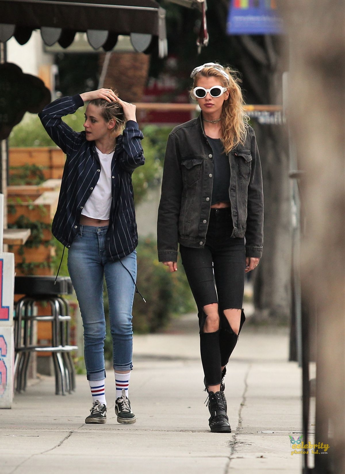 KRISTEN STEWART and STELLA MAXWELL Out and About in Los Angeles (2)