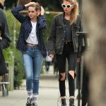 KRISTEN STEWART and STELLA MAXWELL Out and About in Los Angeles 19/01/2018
