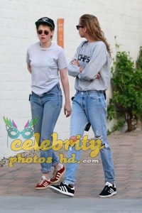 KRISTEN STEWART and STELLA MAXWELL at Shape House Sweat Lodge (1)