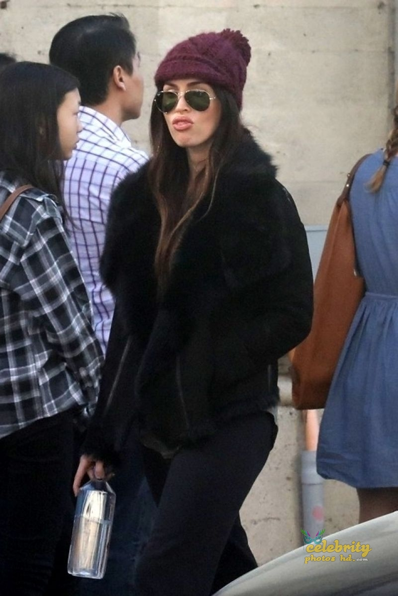 MEGAN FOX at a Church in Los Angeles (1)