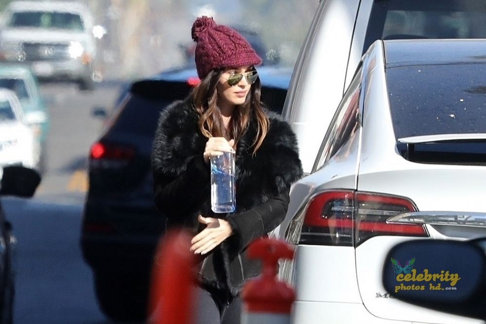 MEGAN FOX at a Church in Los Angeles (2)