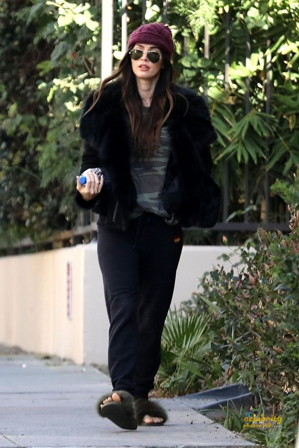 MEGAN FOX at a Church in Los Angeles (4)