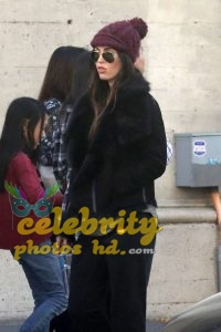 MEGAN FOX at a Church in Los Angeles (5)
