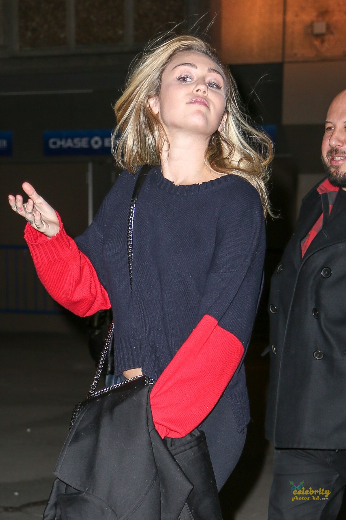 MILEY CYRUS Leaves Madison Square Garden in New York (2)