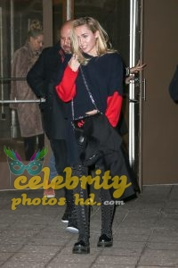 MILEY CYRUS Leaves Madison Square Garden in New York (3)