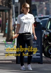 OLIVIA WILDE Out and About in Los Angeles (1)
