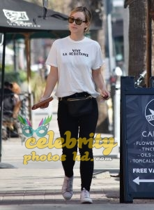 OLIVIA WILDE Out and About in Los Angeles (2)