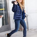 SHAKIRA at JFK Airport in New York-12/24/2017