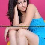 Madhurima hot photo shoot in sexy blue dress
