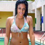 Rithika Sexy Unseen Bikini Photos