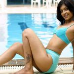 South Indian TV Anchor Medha Raghunathan Bikini Pictures