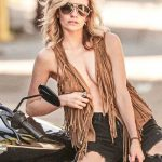 Cody Renee Cameron Hot Photos at Biker's Themed Photoshoot in Los Angeles