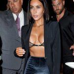Kim Kardashian Photos On Cleavage Candids In New York