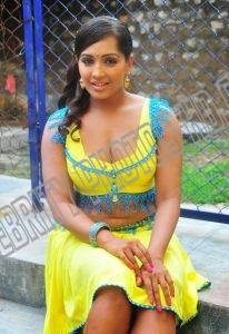 Meghna Naidu aunty without saree
