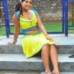 Meghna Naidu aunty without saree hot sexy Photos
