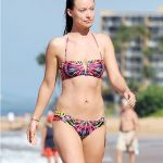Exclusive Actress Olivia Wilde Bikini Photo's